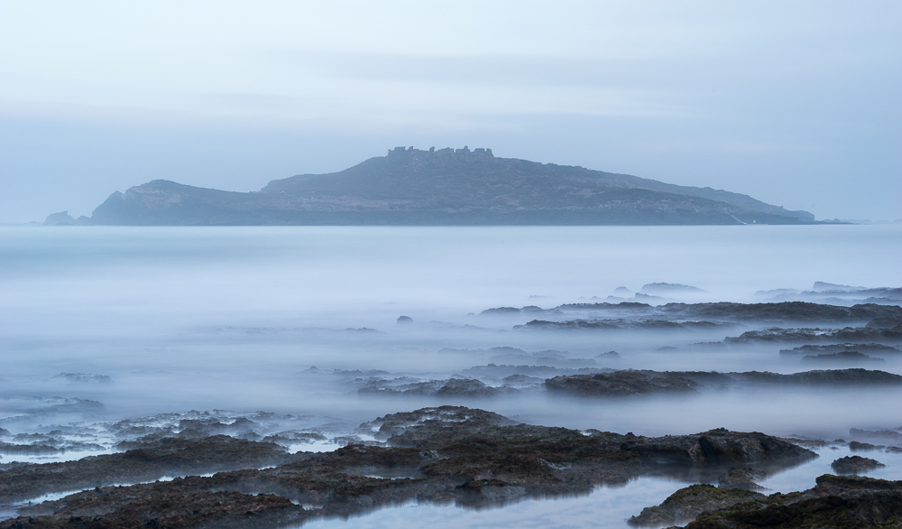 The island in the mist