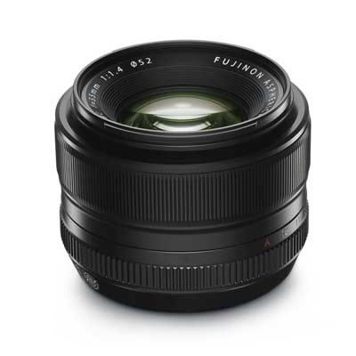 The Fujinon 35mm f/1.4 lens (courtesy Fujifilm)