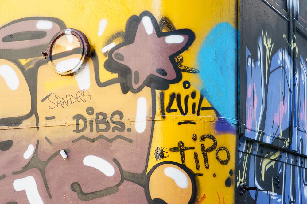 Street car art