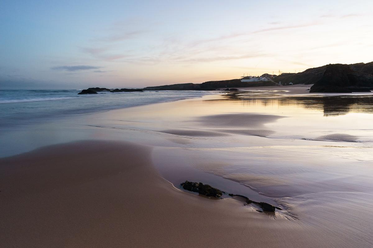 Sand, sea, and sky