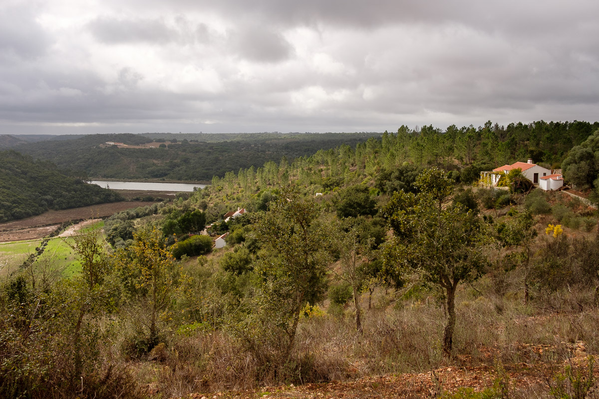 View over the Mira valley