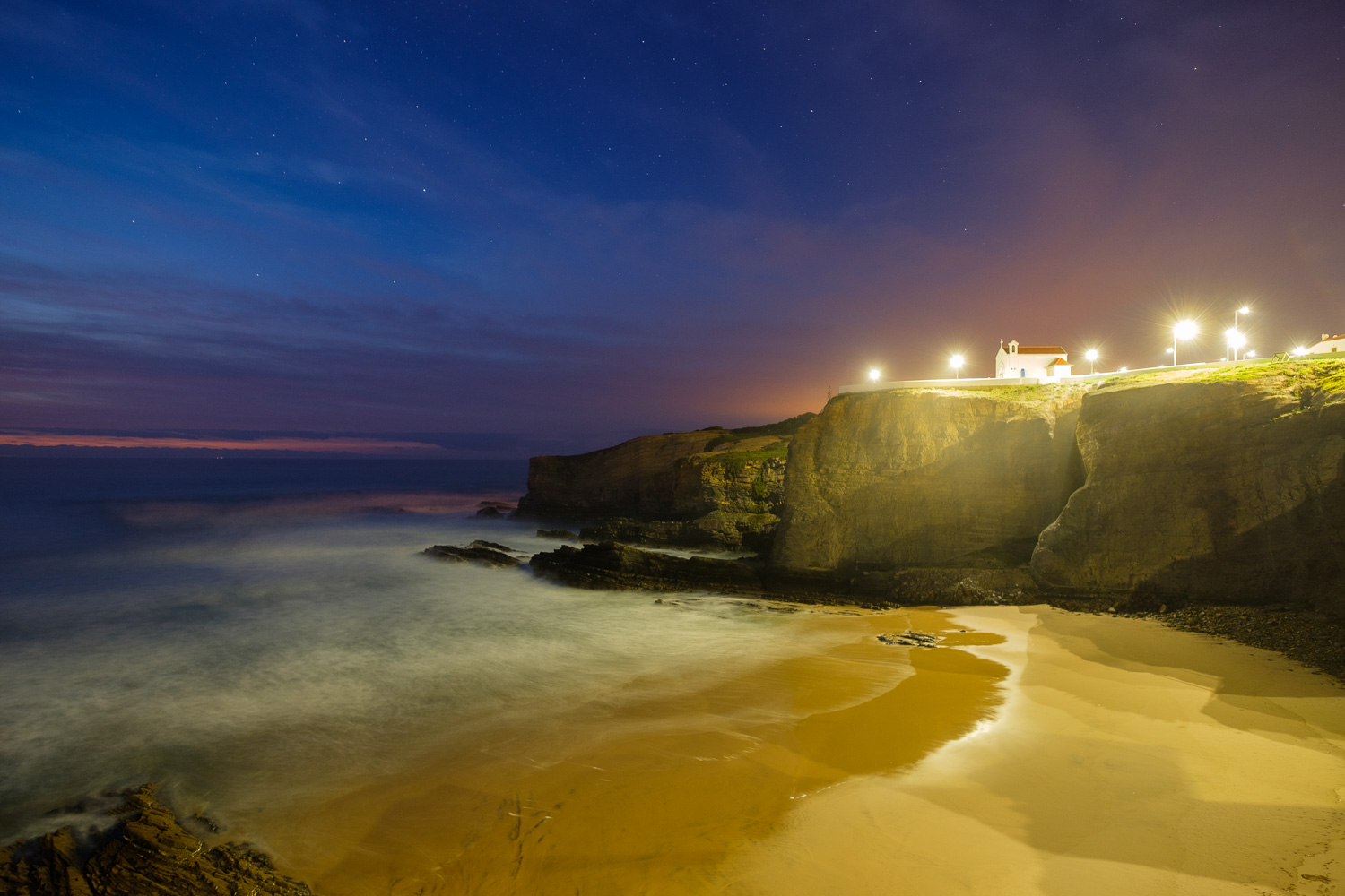 Zambujeira do Mar blue hour